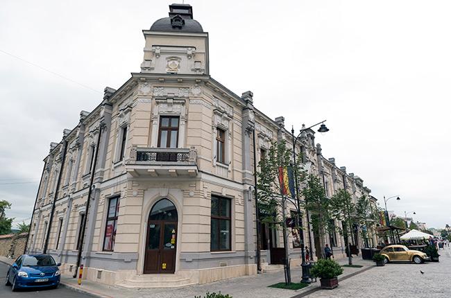 Bulevardul Stefan cel Mare de Iasi (Rumanía)