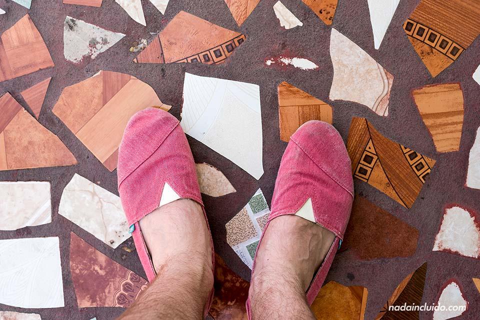 Detalle del suelo de León (Nicaragua)