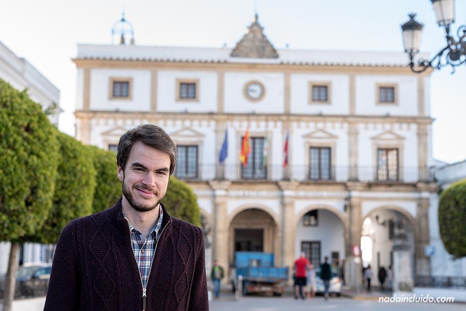 En el ayuntamiento de Medina Sidonia (Cádiz)
