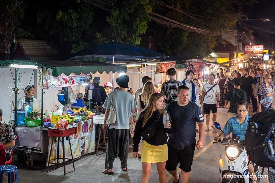 Mercado nocturno (night market) de Pai (Tailandia)