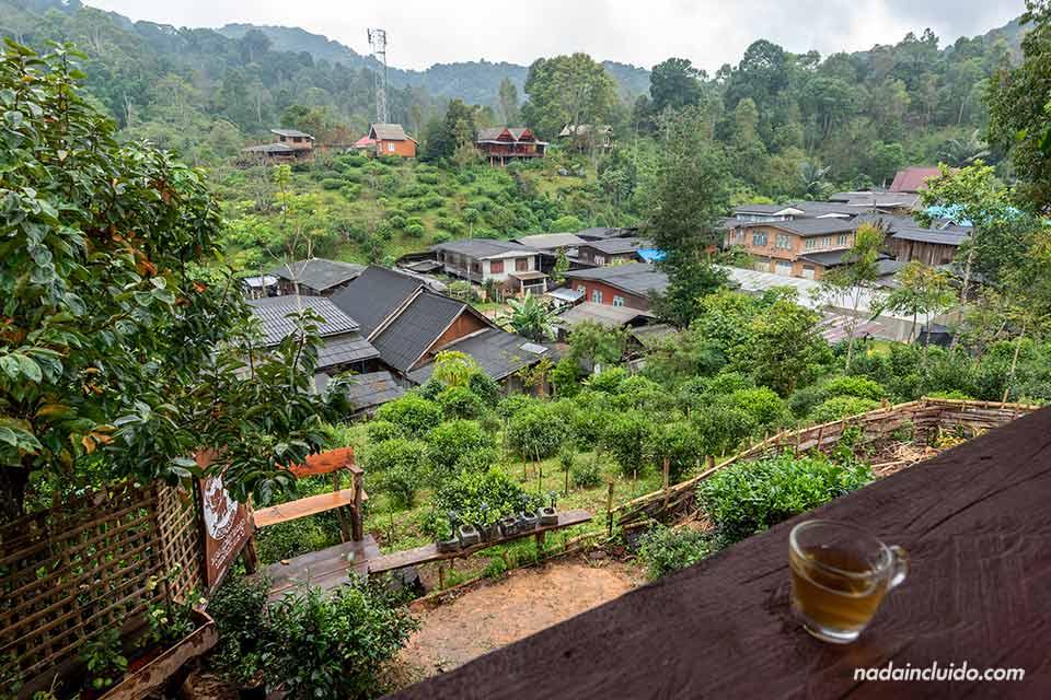 Khun Lao, aldea en el parque nacional Khun Chae (Chiang Rai, Tailandia)