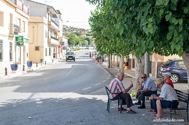 Calles de La Malahá (Granada, Andalucía)