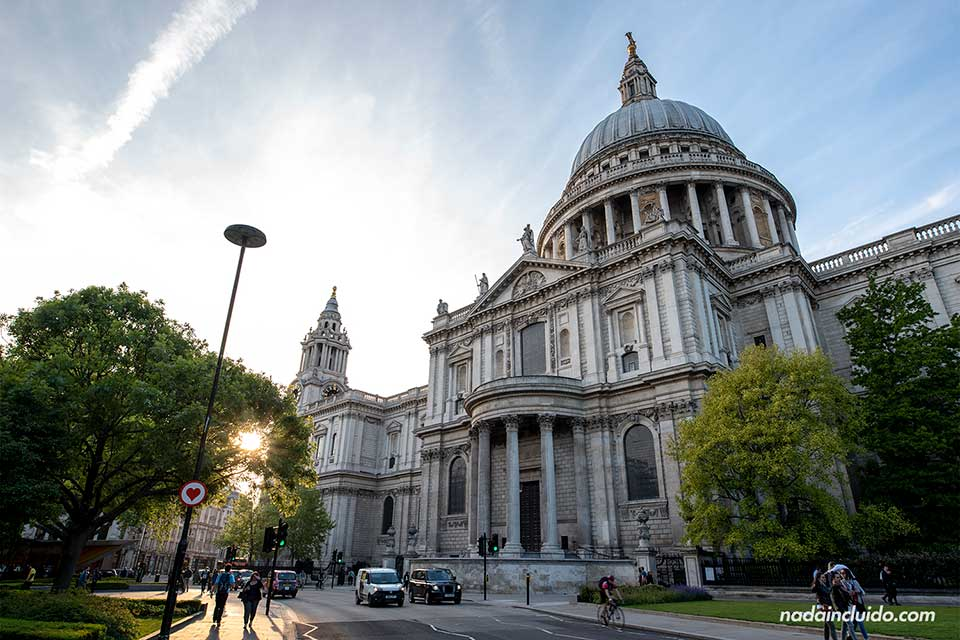 Catedral de St. Paul en Londres (Inglaterra)