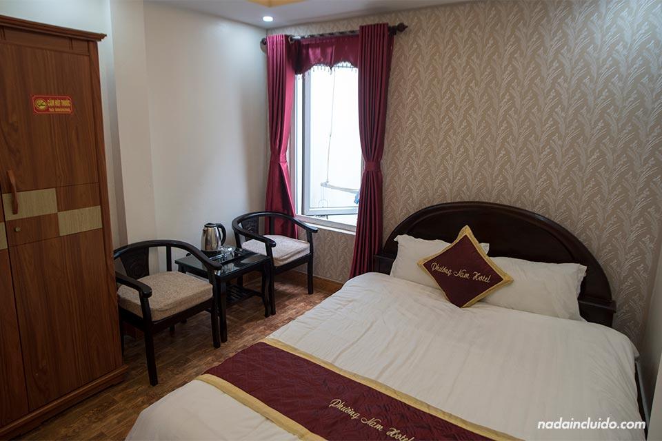 Habitación del Phuong Nam Hotel en Sapa (Vietnam)