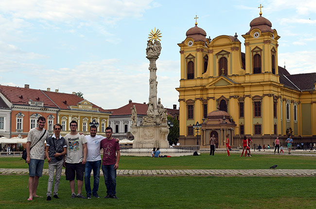 Piata Unirii de Timisoara (Rumanía)
