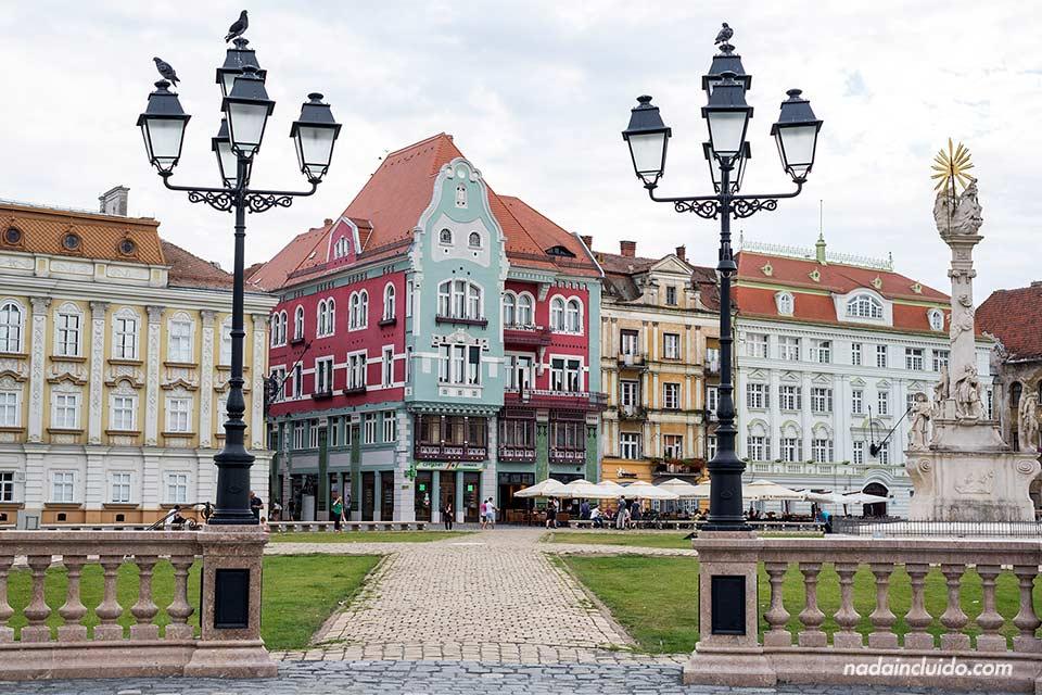 Piata Unirii en Timisoara (Rumanía)