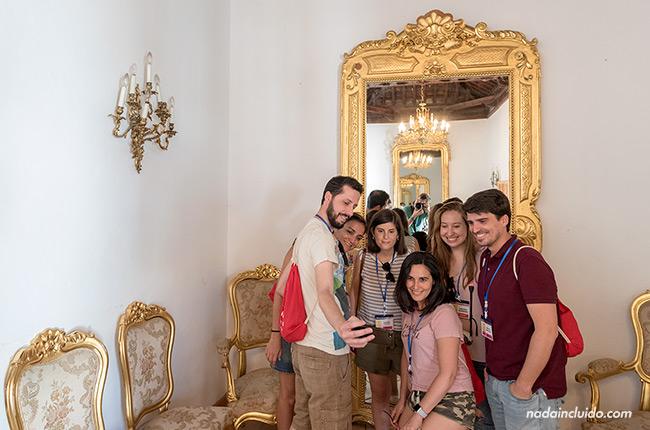 Salón del Hospital de la Reina de Alhama de Granada