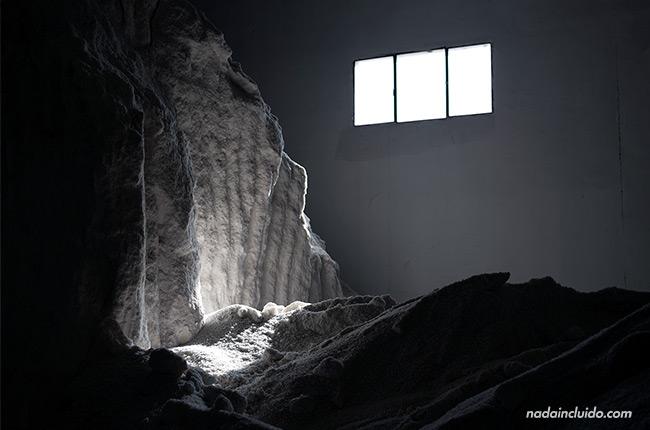 Almacén de sal junto a la salina de La Malahá (Granada, Andalucía)
