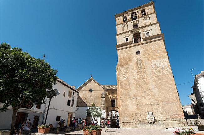 Plaza de los presos en Alhama de Granada