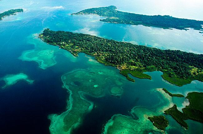 Isla Bastimento en Bocas del Toro (Panamá). Fuente: Wikipedia