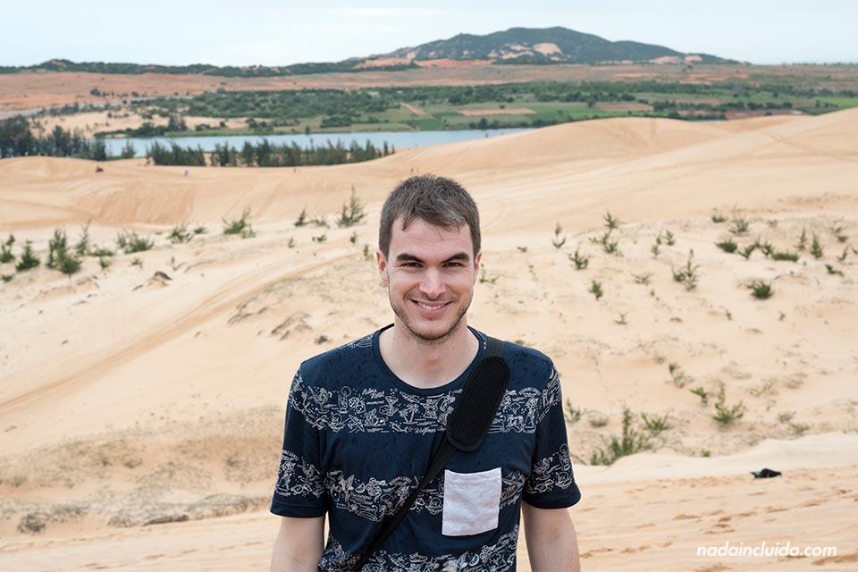 En las White Sand Dunes de Mui Ne (Vietnam)