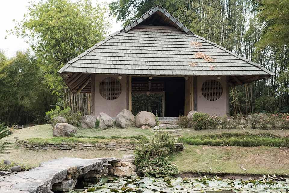 Jardín japonés en el Jardín Botánico Lankester (Cartago, Costa Rica)