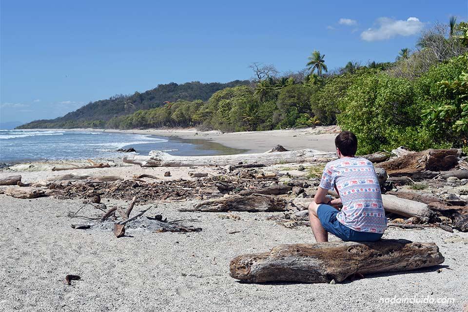 En la playa de Santa Teresa, en Costa Rica