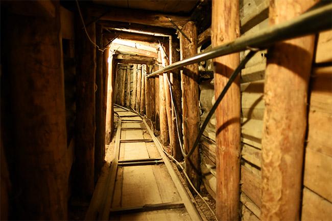 Tramo del Túnel de Sarajevo (Bosnia)