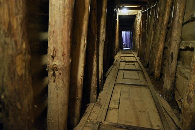 Tunel de la Esperanza (Tunnel of Hope) en Sarajevo (Bosnia)