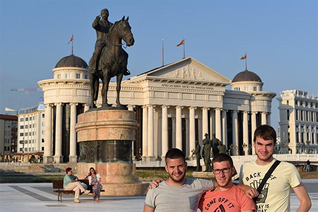 En el museo arqueológico nacional de Skopje (Macedonia)