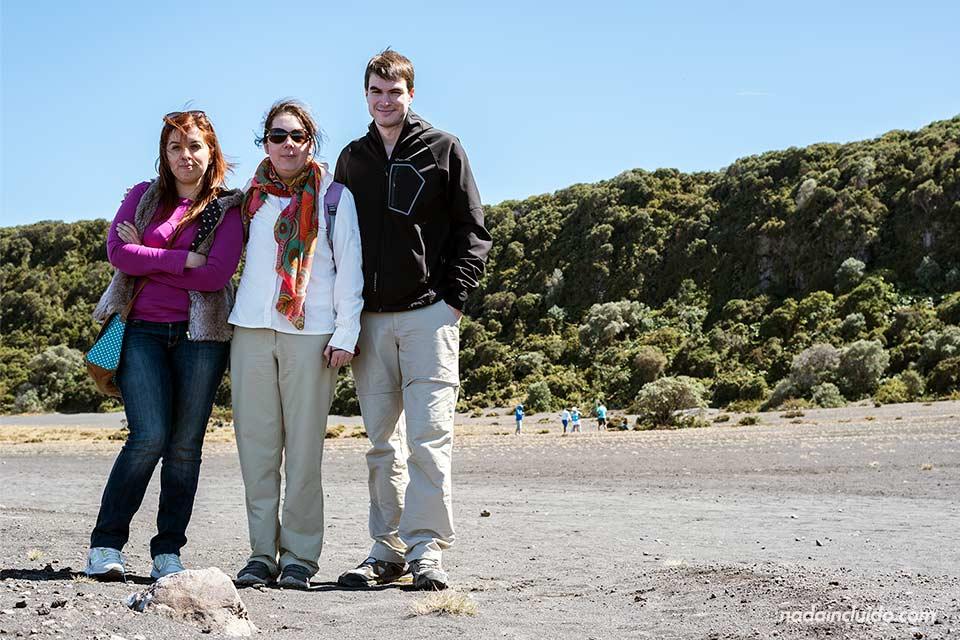 En el Parque Nacional del Volcán Irazú (Costa Rica)