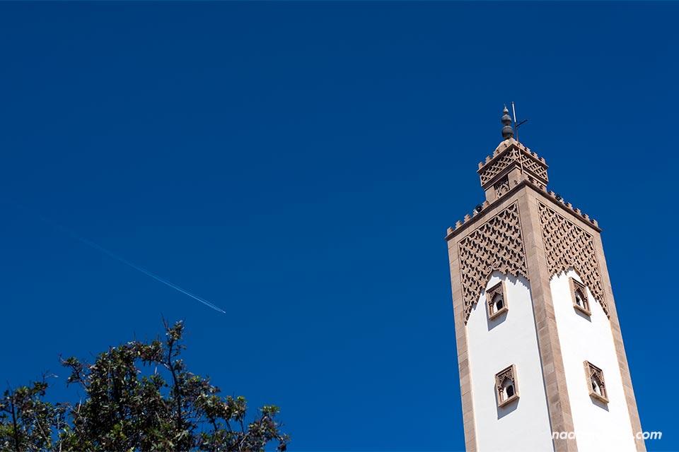 Torre de la mezquita Mohamed V de Agadir (Marruecos)