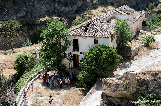 Harinera en el camino de los Ángeles de Alhama de Granada
