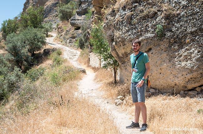 En el camino de los Ángeles de Alhama de Granada