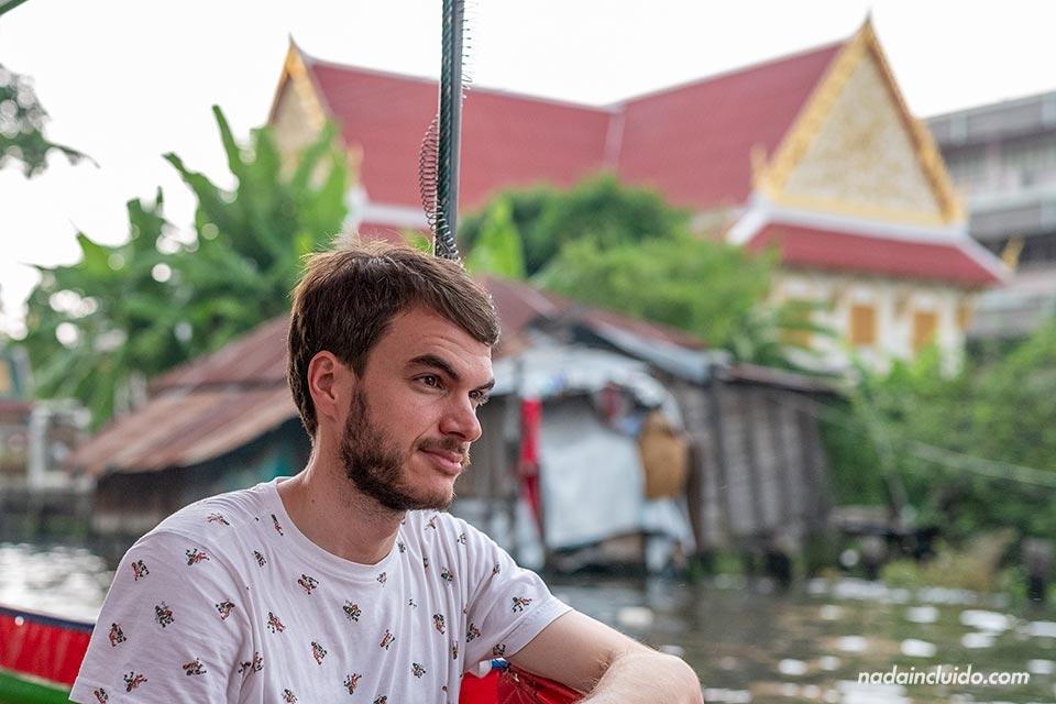Paseando por los canales de Bangkok (Tailandia)