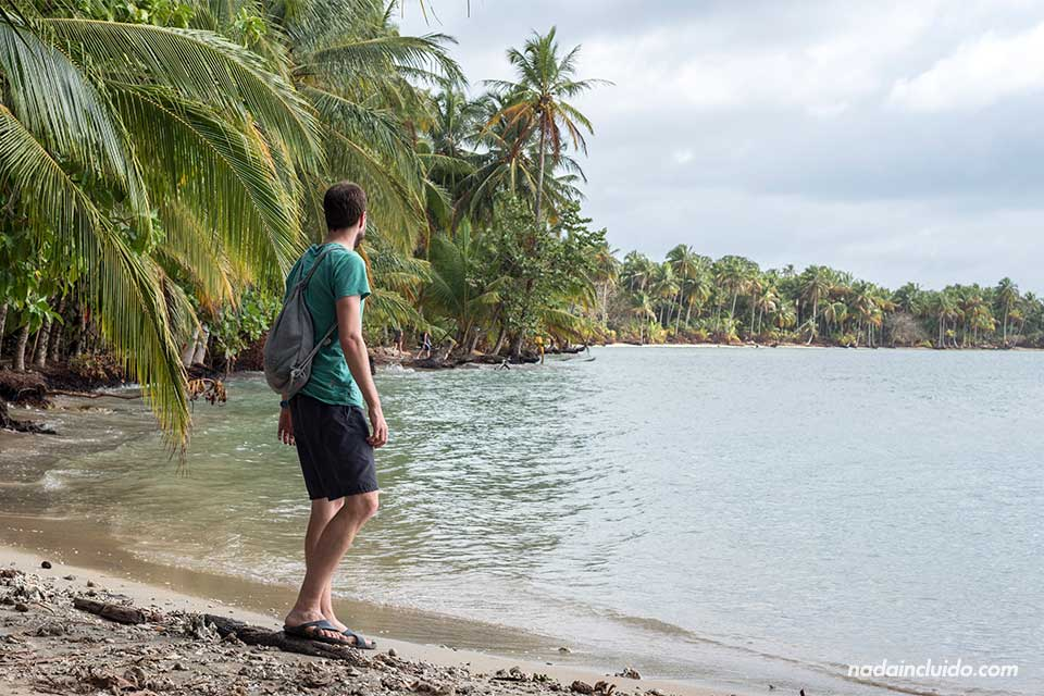 Playa de Boca del Drago, en isla Colón (Bocas del Toro, Panamá)