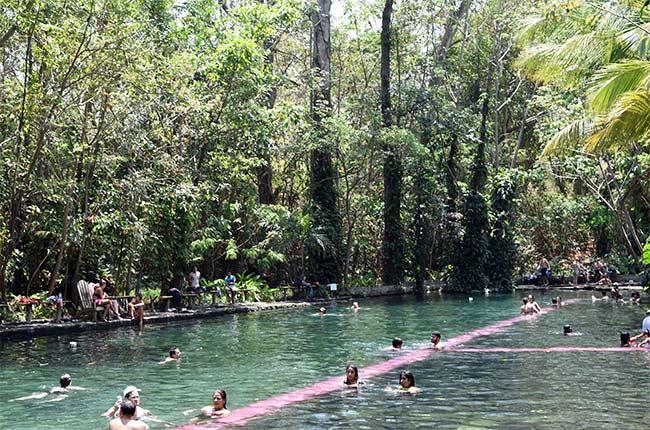 Termas Ojo de Agua en la Isla de Ometepe (Nicaragua)