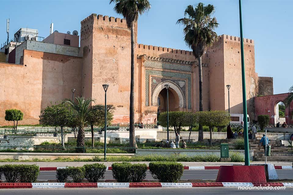 Bab Berdaine en Meknes (Marruecos)