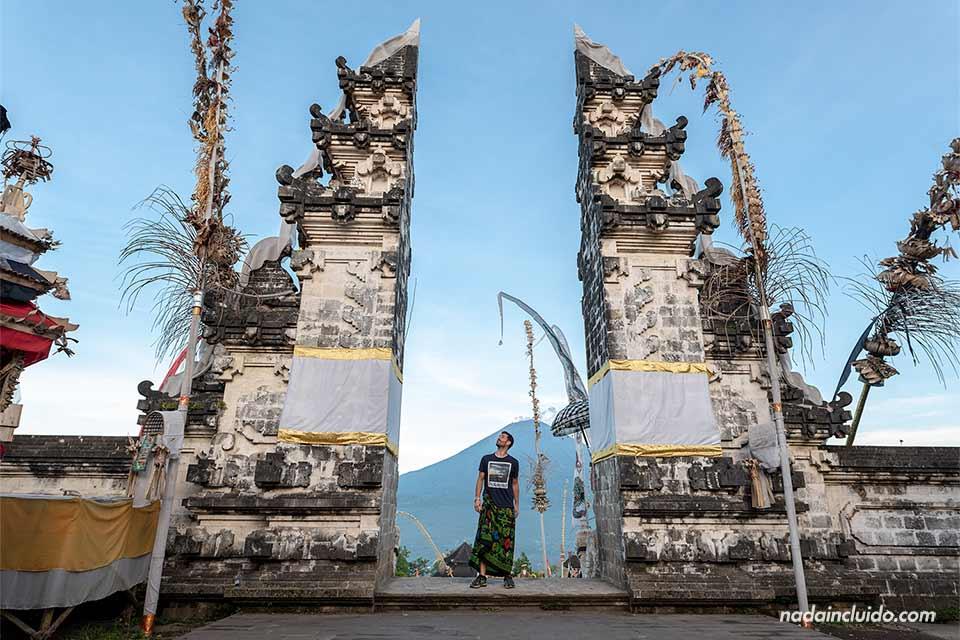 Puerta del cielo del Pura Lempuyang (Bali, Indonesia)