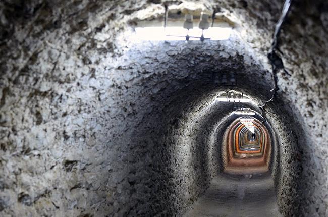 Túnel de acceso a Salina Turda (Rumanía)