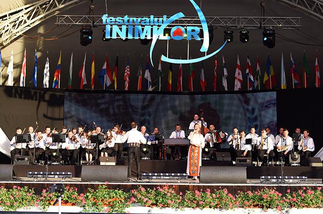 Música tradicional en el Festival Inimilor de Timisoara (Rumanía)