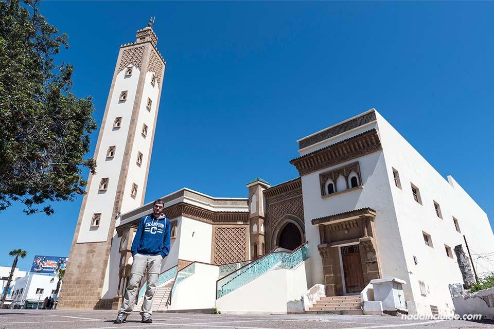En la mezquita Mohamed V de Agadir (Marruecos)