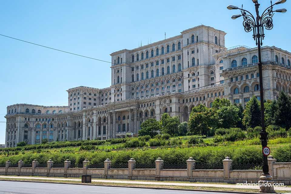 Palacio del Parlamento de Bucarest (Rumanía)