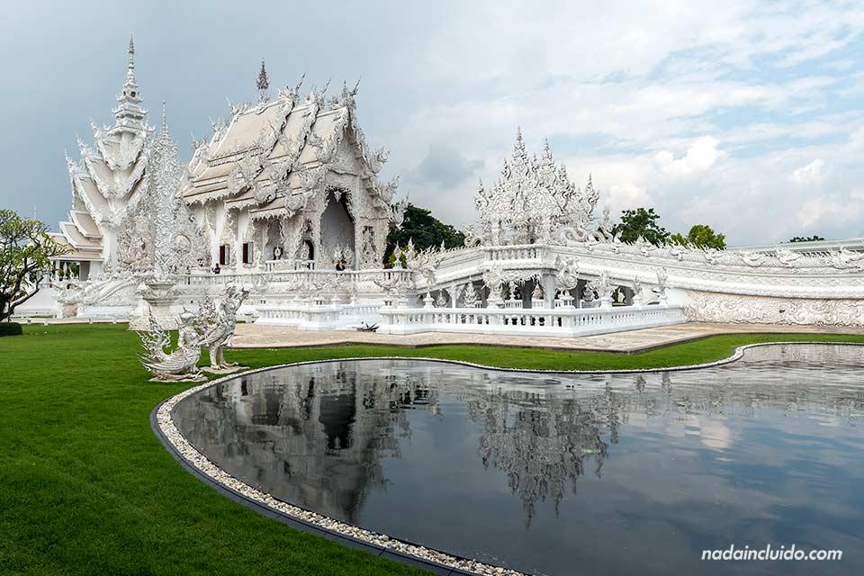 Wat Rong Khun, el templo blanco de Chiang Rai (Tailandia)