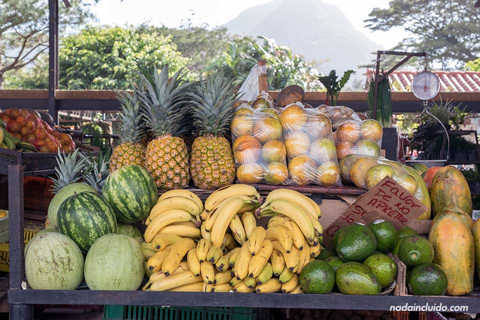 Mercado de frutas del Valle de Antón (Panamá)
