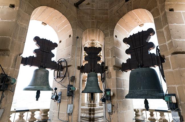 Campanas de la catedral de Santo Domingo de la Calzada (Rioja, España)