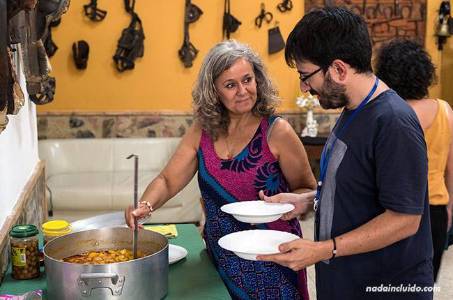 Comida en Casa Pepe Bravo, Alozaina (Málaga)