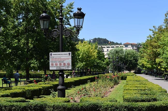 Parcul Nicolae Titulescu, Brasov (Rumanía)