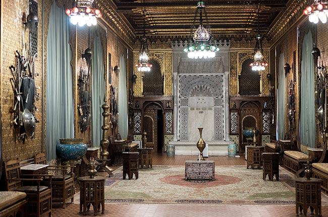 Salón Maura en el interior del Castillo de Peles (Sinaia, Rumanía)