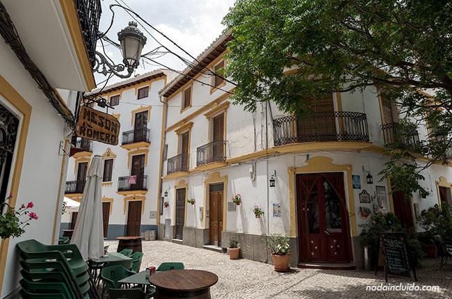 Calle del Carmen en Castril (Granada, Andalucía)