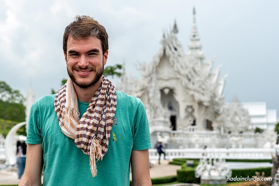 En el templo blanco de Chiang Rai - Wat Rong Khun (Tailandia)