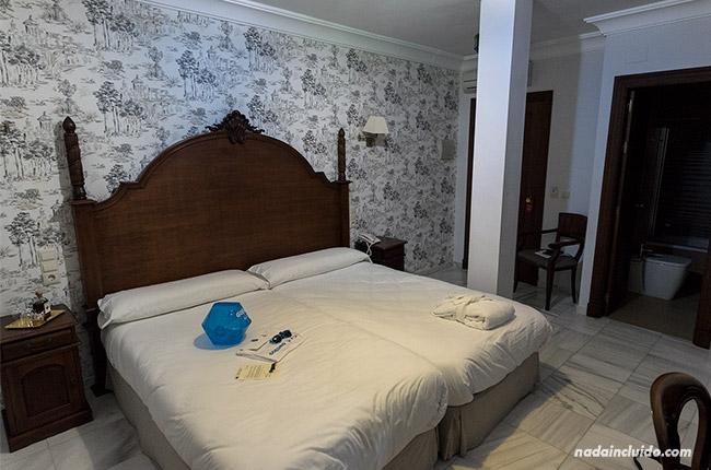 Habitación del hotel Playa de Regla (Chipiona, Cádiz)