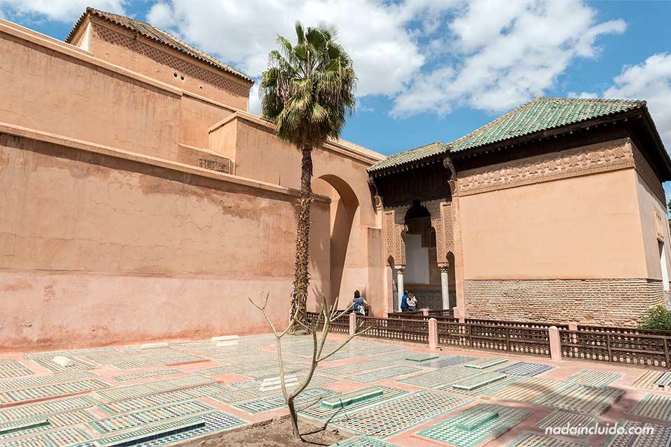 Recinto de las Tumbas Saadies de Marrakech (Marruecos)