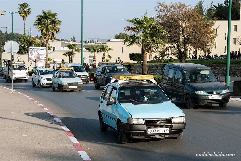 Taxi en Meknes (Marruecos)