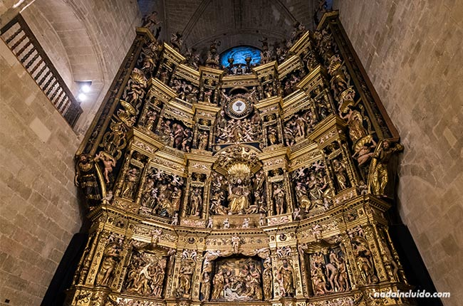 Retablo de la catedral de Santo Domingo de la Calzada (Rioja, España)