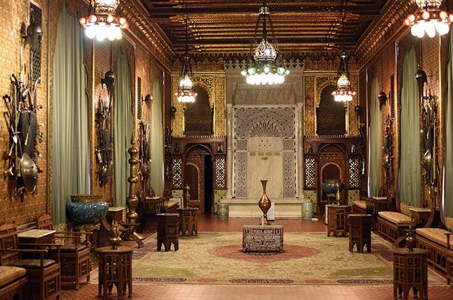 Salón de Maura en el Castillo de Peles (Rumanía)