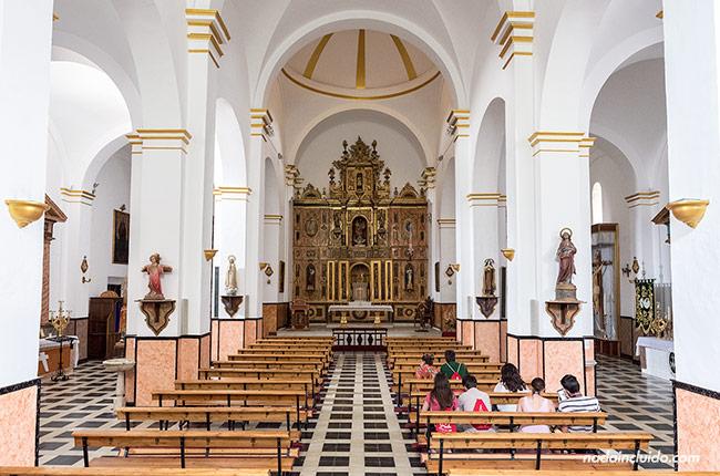 Interior de la parroquia Nuestra Señora de los Ángeles de Castril (Granada, Andalucía)