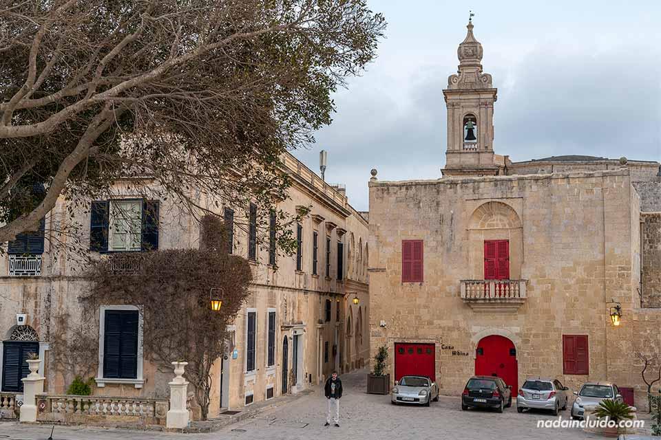 En la plaza Bastion de Mdina (Malta9