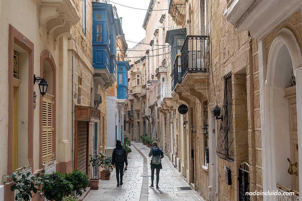 Paseando por las calles de Birgu, una de las Three Cities de Malta