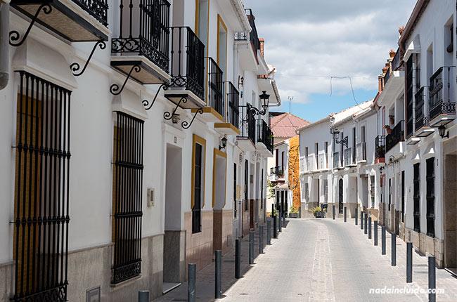Calles de Alozaina (Málaga)